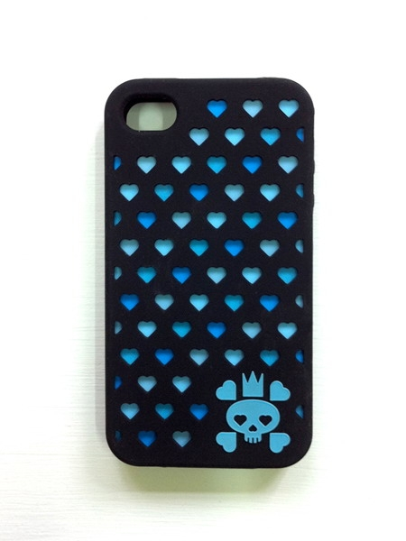 Papamamason - Skulluminous iphone 4 case (Black)