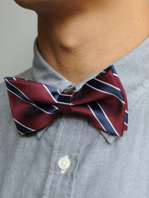 Bow Tie (Red/Blue Strap)
