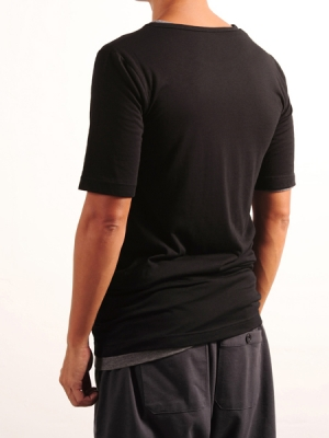 Short Sleeves Tee (Black + Grey Package)
