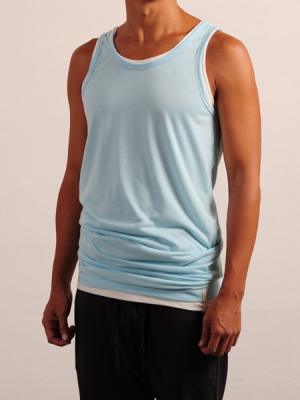 Tank Top (Blue + White Package)