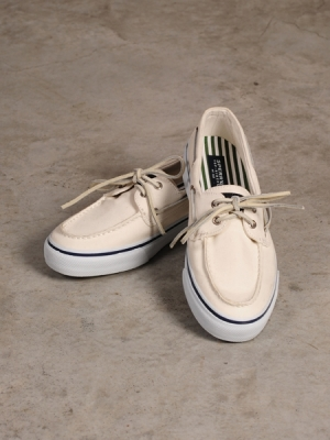 Referee X Sperry Top Sider (Canvas White)