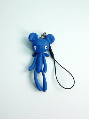 Reborn Bear Phone Strap(Blue)