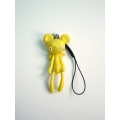 Reborn Bear Phone Strap(Yellow)